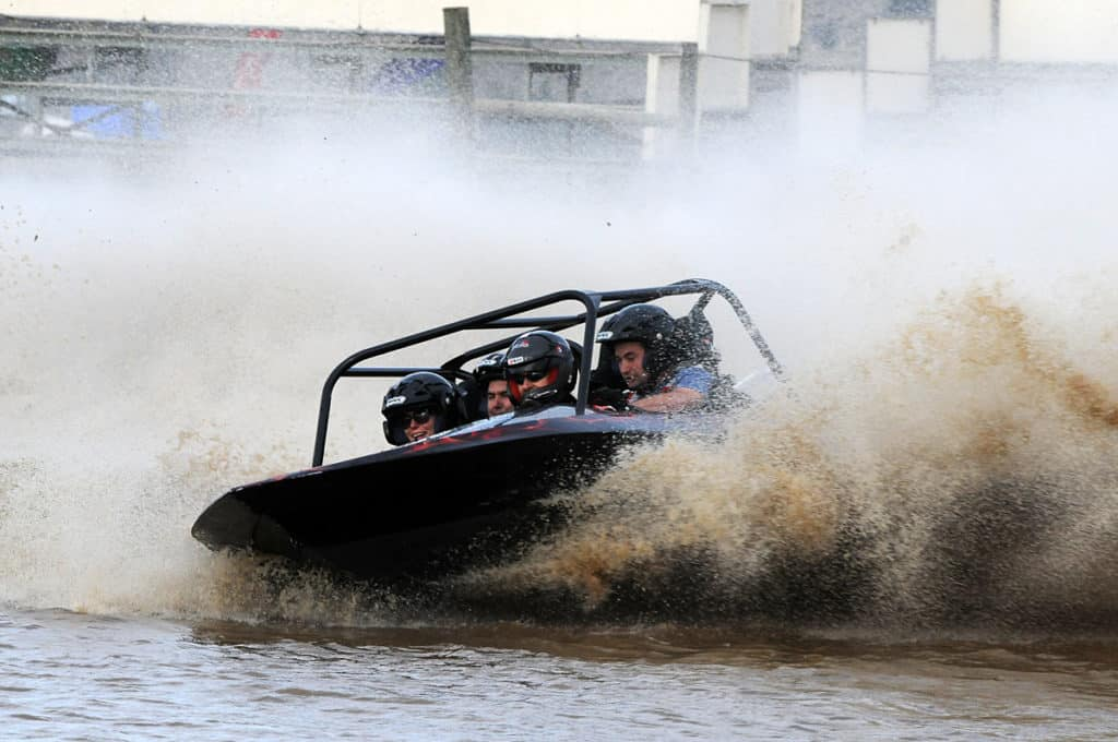 Experience the Sprintec 4 seater jet sprint boat the ultimate in craftsmanship