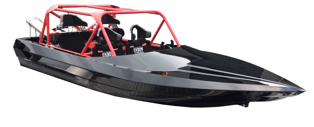 Sprintec Quad Sprinter is the latest 4 seat jet sprint boat by world champion Peter Caughey